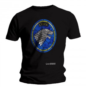 T-shirt Game of Thrones - Stained Glass Stark