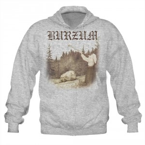 Sweat Zippé Burzum - Filosofem