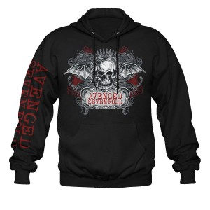 Sweat à Capuche Avenged Sevenfold - Ornate Skull