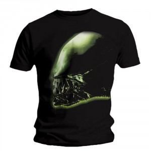 T-shirt Alien - Isolation Cover