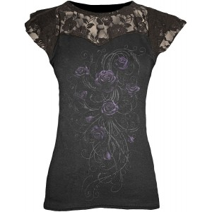 T-shirt Spiral - Entwined Layered - Femme