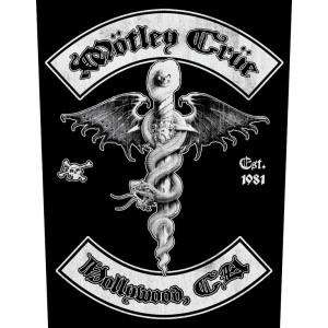 Back Patch Motley Crue - Hollywood