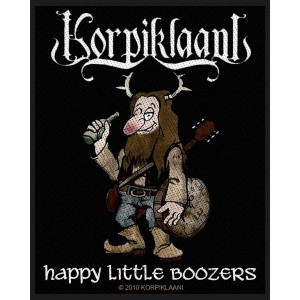 Patch Korpiklaani - Happy Little Boozers