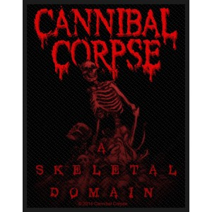Patch Cannibal Corpse - A Skeletal Domain