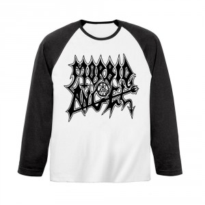 T-shirt Manches Longues Morbid Angel - Logo Baseball