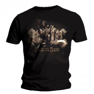 T-shirt AC/DC - Rock or Bust Explosion