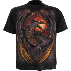 Spiral T-shirt - Dragon Furnace