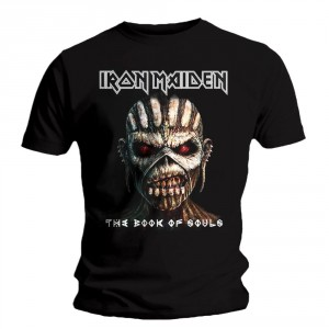 T-shirt Iron Maiden - The Book Of Souls