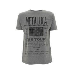 T-shirt Metallica - Metallica 92 Poster
