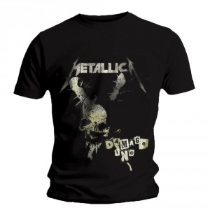 T-Shirt Metallica - Damage Vintage