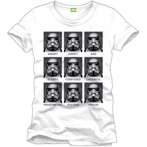 T-shirt Star Wars - Stormtrooper Emotions