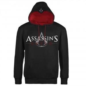 Sweat à Capuche Assassins Creed - Logo Red Trim