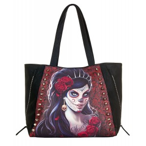 Sac Cuir Spiral - Day Of The Dead