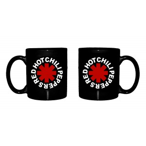 Mug Red Hot Chili Peppers - Black Logo