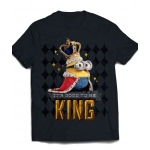 T-shirt Minions - Good To Be King