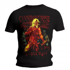 T-Shirt Cannibal Corpse - Eaten Back To Life - 2015