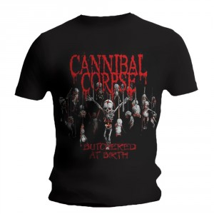 T-Shirt Cannibal Corpse - Butchered At Birth - 2015