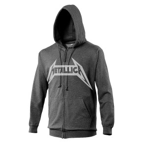 Sweat Zippé Metallica - No life Till Leather