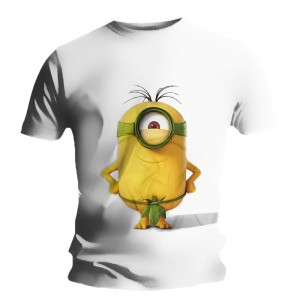 T-shirt Minions - Stuart Leaf