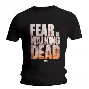 T-shirt Fear The Walking Dead - Logo