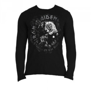 T-shirt Manches Longues Iron Maiden - Number Of The Beast
