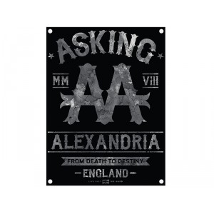 Drapeau Asking Alexandria - Black Label