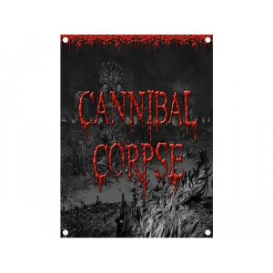 Drapeau Cannibal Corpse - Skeletal Domain