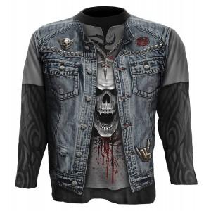 T-shirt Manches Longues Spiral - Thrash Metal