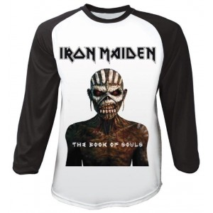 T-shirt Raglan Iron Maiden - The Book Of Souls