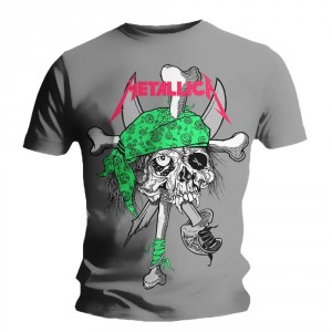 Metallica T-shirt - Fluo Pirate Zinc