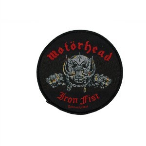 Patch Motorhead - Iron Fist/Skull