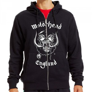 Motorhead hooded zip - England