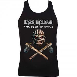 T-shirt Iron Maiden - Axe Colour- Femme