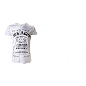 T-shirt Jack Daniel's - Classic White Logo
