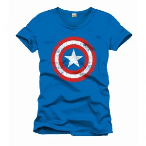T-shirt Captain America- Logo