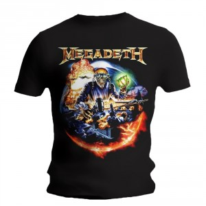 T-Shirt Megadeth - Judgement