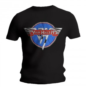 T-shirt Van Halen - Chrome Logo