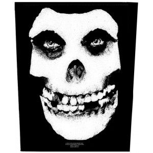 Back Patch Misfits - Face Skull