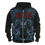 Sweat Zippé AC/DC - Angus Duo Ice