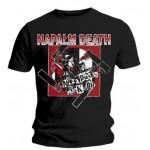 T-Shirt Napalm Death - Nazi Punks
