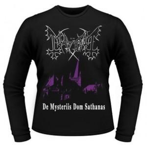 T-Shirt Manches Longues Mayhem - De Mysteriis Dom Sathanas