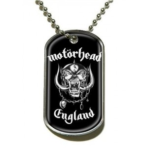 Pendentif Dog Tag Motorhead - England