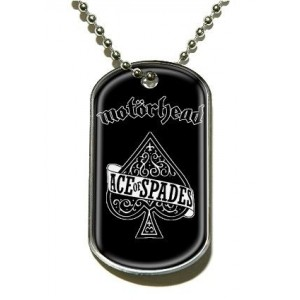 Pendentif Dog Tag Motorhead - Ace Of Spades