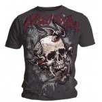 T-Shirt Miami Ink - Swallow And Skull