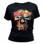 T-Shirt Iron maiden - Final Frontier - Femme