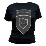 T-Shirt Vreid - Pitch Black Brigade - Femme