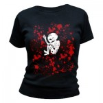 T-Shirt Cannibal Corpse - Foetus Blood Splatter - Femme