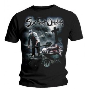Six Feet Under T-shirt - Dead Meat