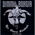 Sticker Dimmu Borgir - In Sorte/Goat