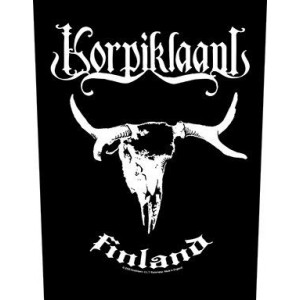 Back Patch Korpiklaani - Finland